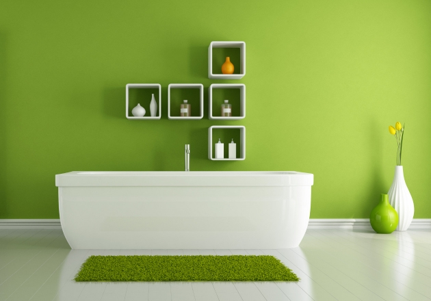 Ideas-para-decorar-el-bano-en-color-verde-1