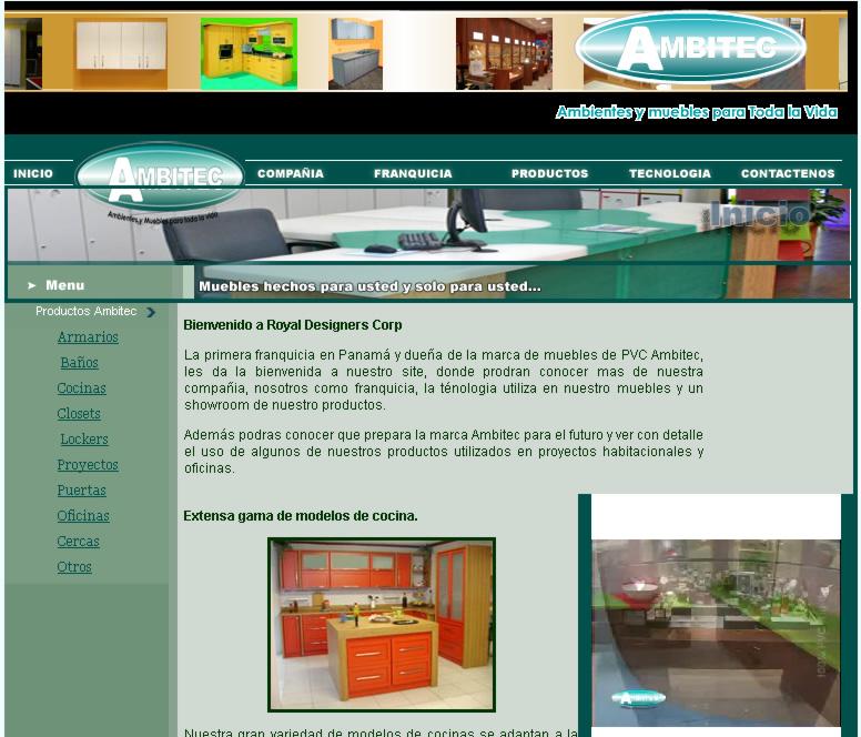 Ambitec  Muebles en Panamá - Muebles Modernos ...