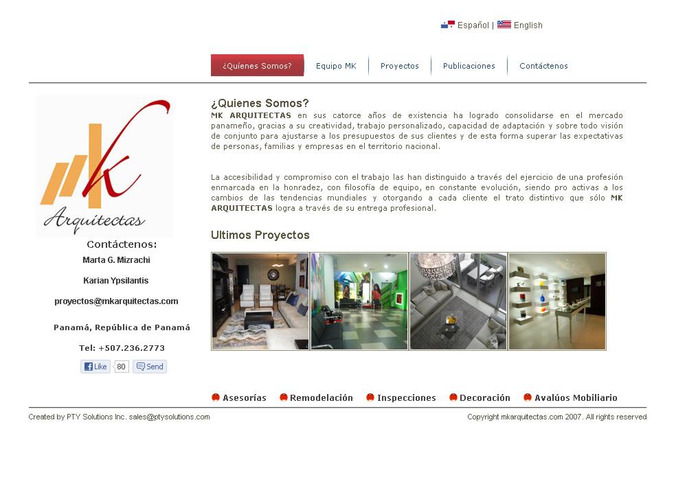 MK Arquitectas Panamá - Diseño de Interiores