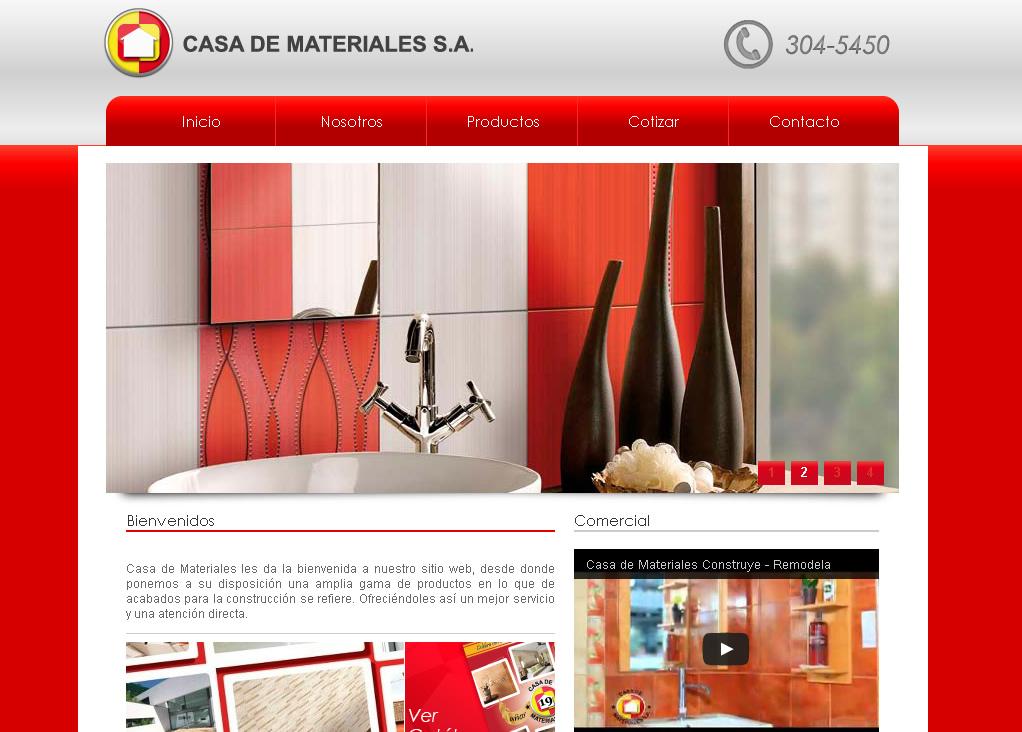 Muebler as en panam casa de materiales interiores - Casas de materiales ...