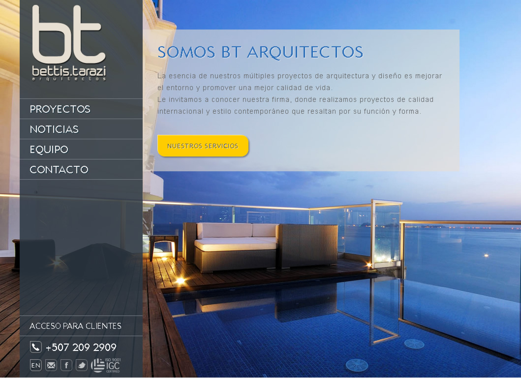 BT Arquitectos Panamá - Aquitectura Comercial y Residencial