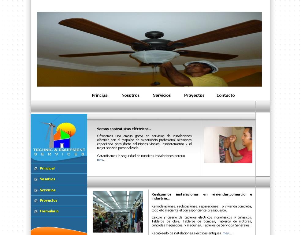 Instalaciones eléctricas residenciales y comerciales en Panamá