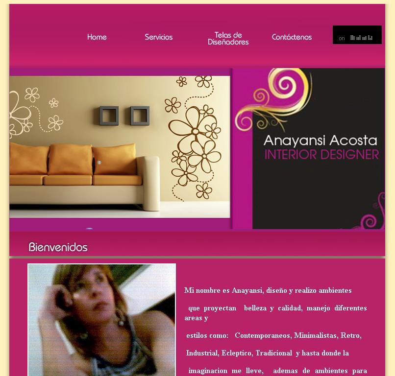 Decoracion de Interiores en Panama - Anyansi Acosta Desing