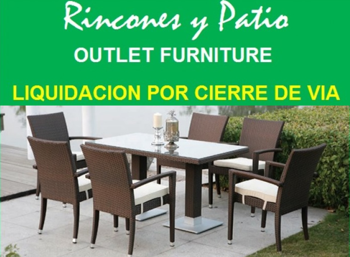 Muebles en oferta rincones outlet interiores estilo for Muebles exterior outlet