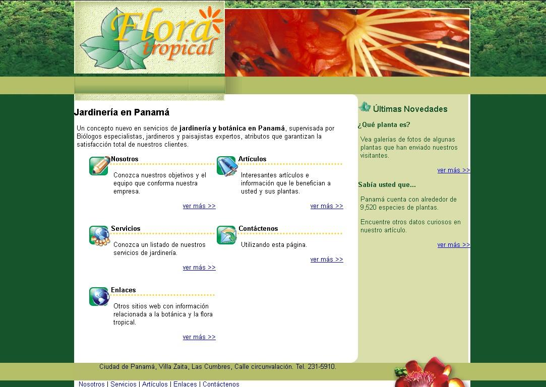 Servicio de Jardineria en Panamá