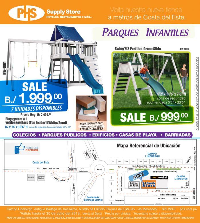 Mueblerias en Panama - Parques Infantiles y Más