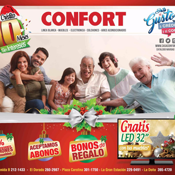 catalogo de ofertas casa confort