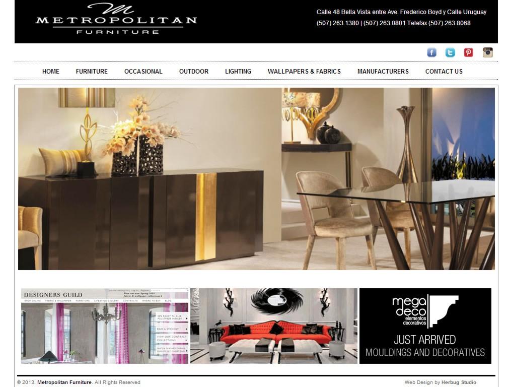 Metropolitan Furniture  Muebles en Panamá  Muebles Modernos