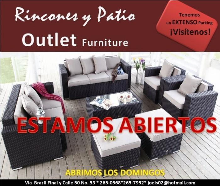 Ofertas de Muebles de Exteriores en Panamá