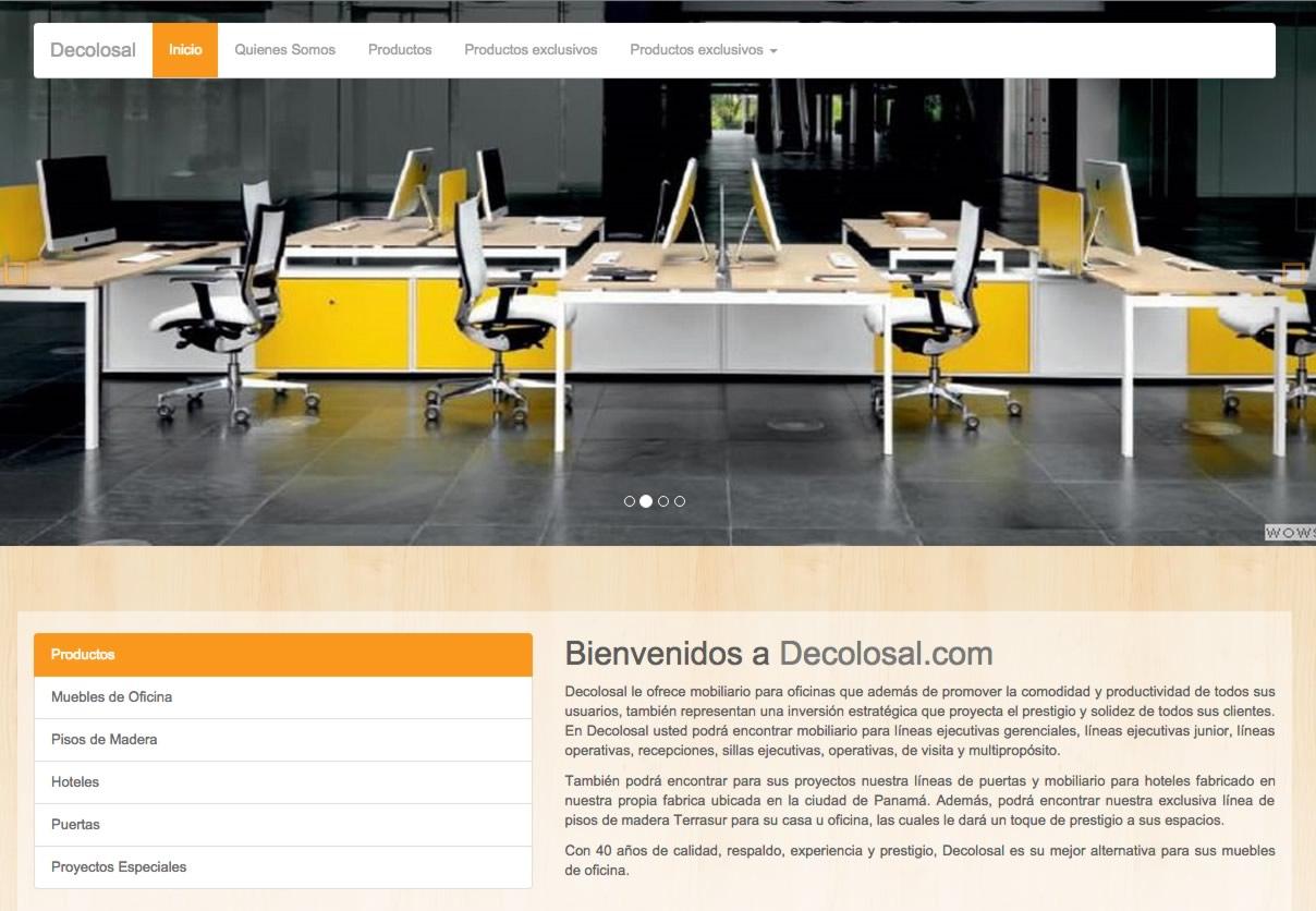 Decolosal  muebles de oficina  Muebles en Panamá  Muebles Modernos