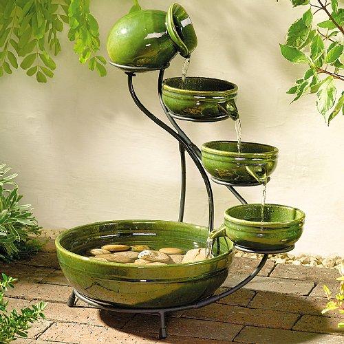 Decoracion de interiores con fuentes de agua muebles en for Jardines de hogar