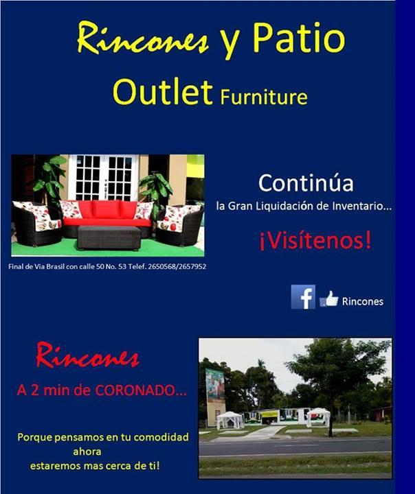 Muebles de Jardin - Muebles de Mimbre - Muebles de Exteriores en Panamá
