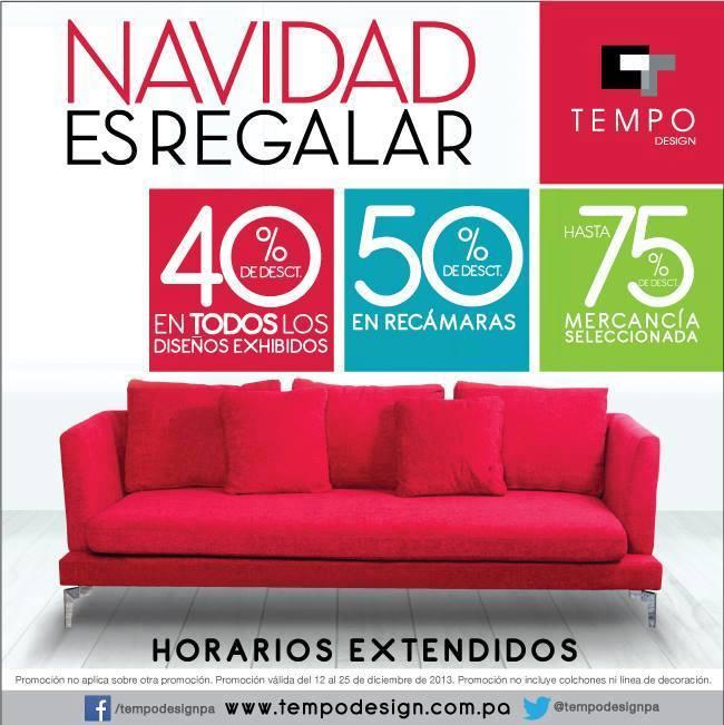 Tempo Design Panamá - Muebles para el hogar