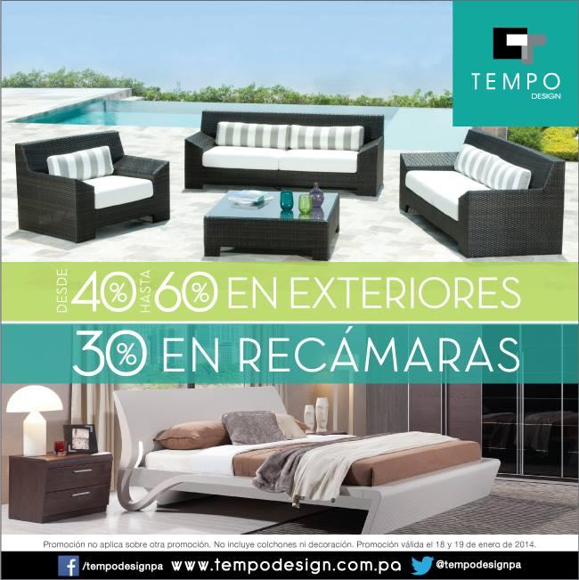 Ofertas Muebles en panama Tempo Design