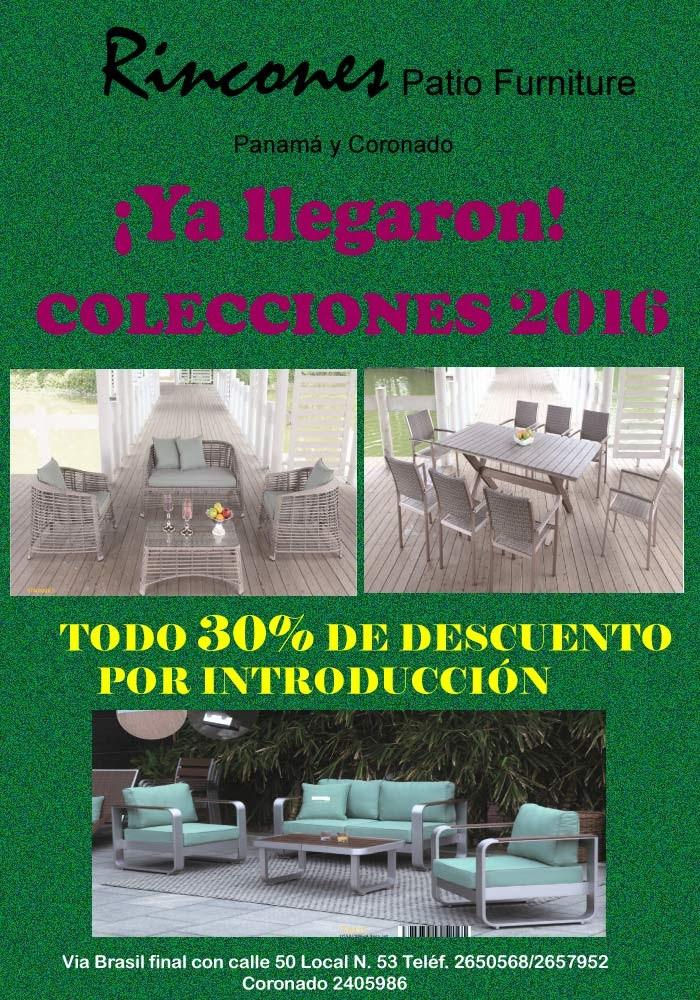 ofertas y descuentos - muebles de terraza panama