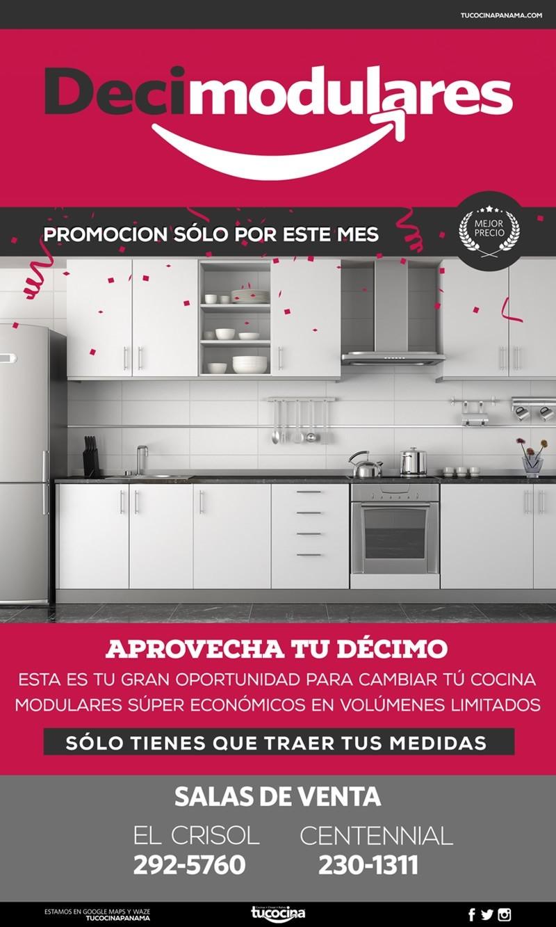 ofertas en muebles de cocina - tu cocina panama