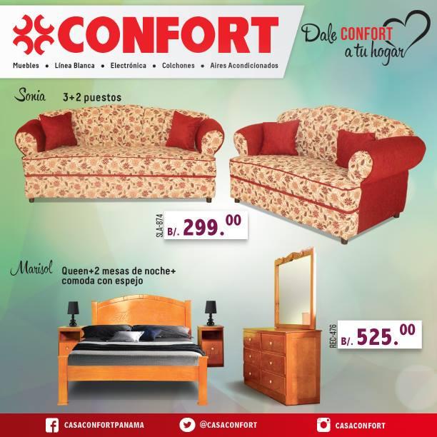 ofertas de muebles en panama - casa confort panama