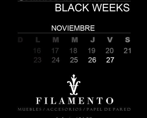 Black week en Filamento