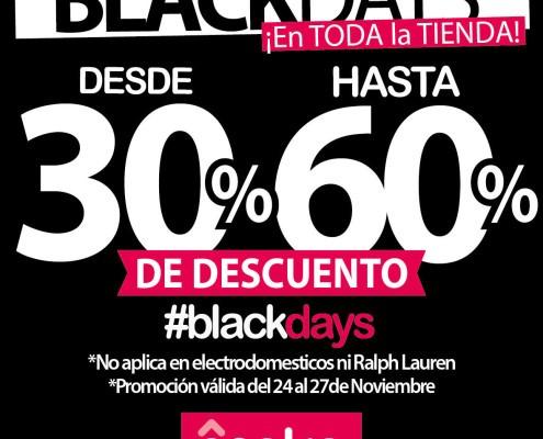 Black Friday en Osaka Home Store