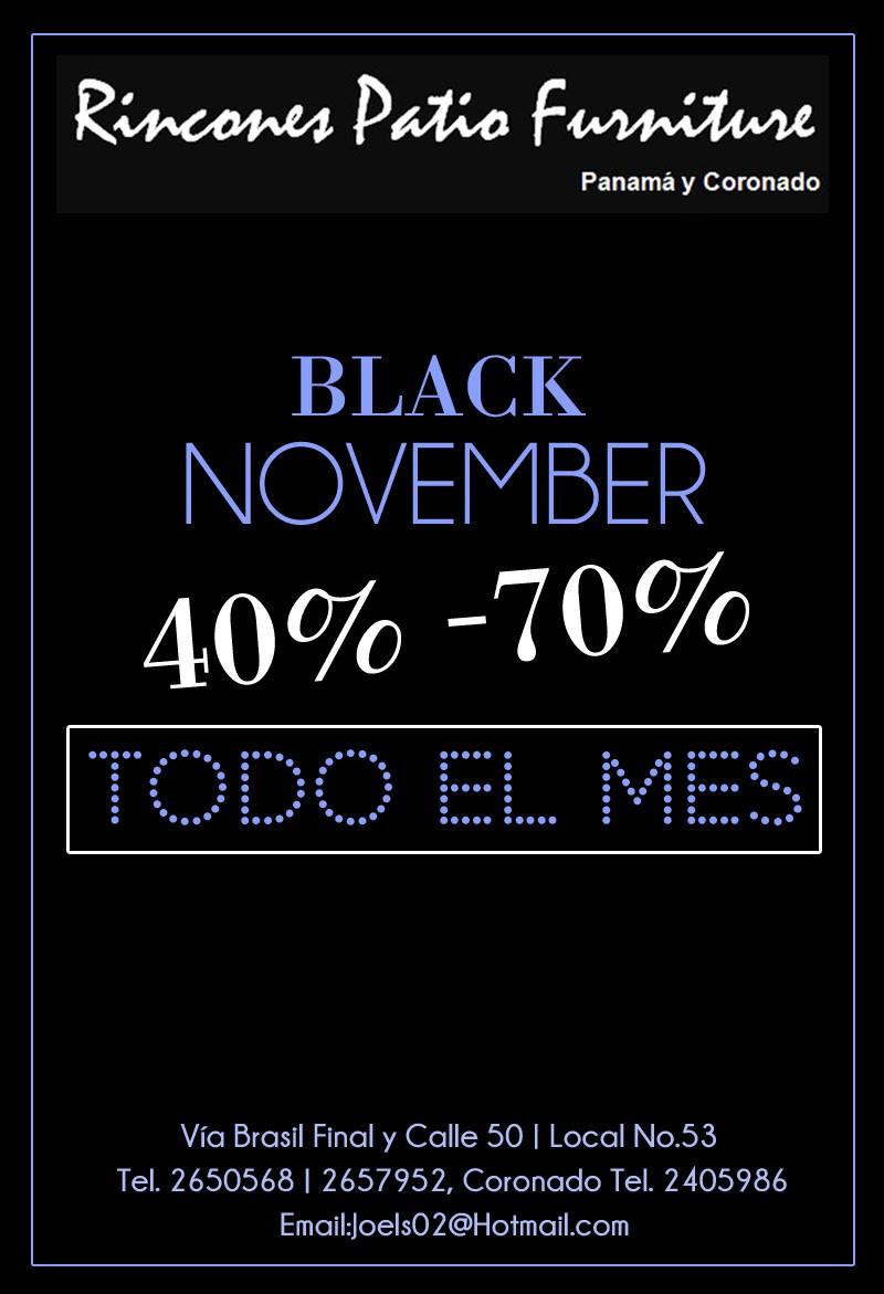 Rincones Black Noviembre 70%off