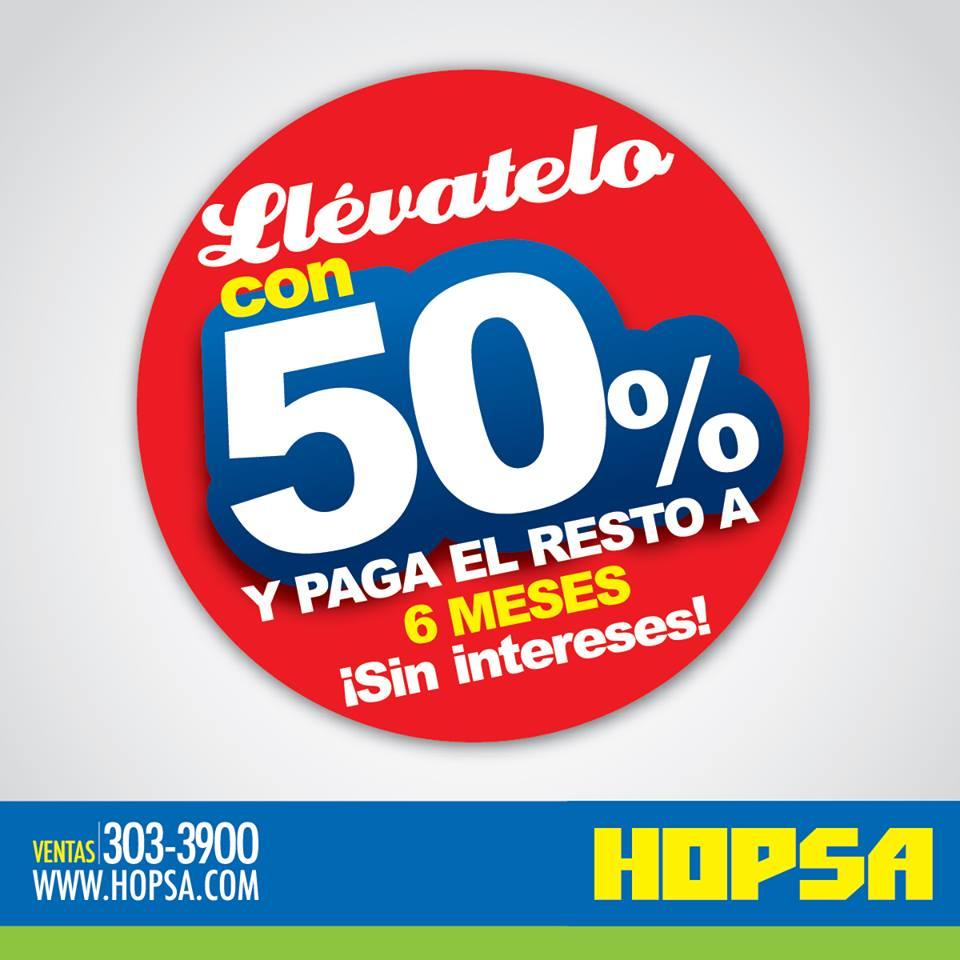 ofertas y promociones hopsa - panama