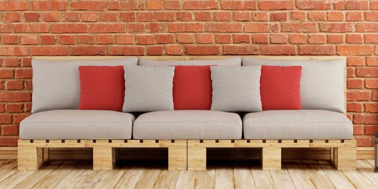 12 ideas de muebles con paletas de madera interiores for Ideas muebles