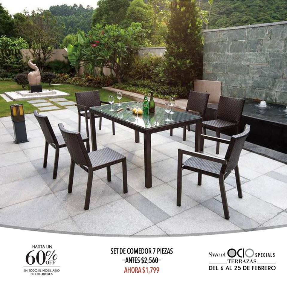 60 menos en mobiliario de exteriores interiores estilo - Mobiliario de exteriores ...