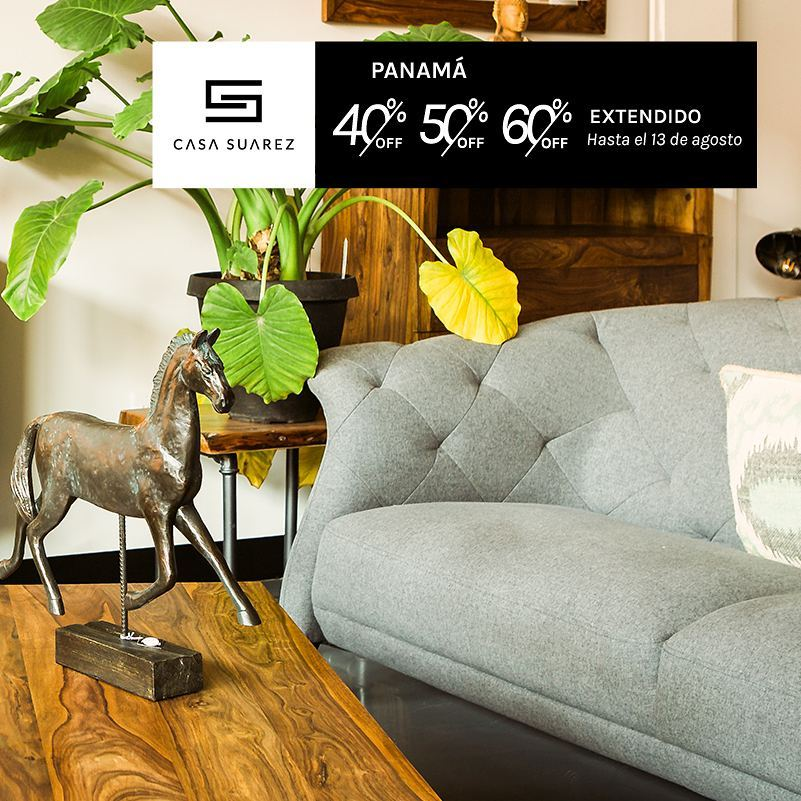 Hasta el 60% de descuento - Muebles a Panamá