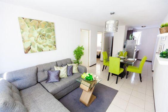 Sala Comedor Pequeños : 11 ideas para decorar sala comedor pequeños interiores & estilo